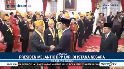 Jokowi Kukuhkan Pengurus LVRI dan Naikkan Tunjangan Veteran