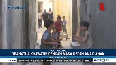 Ratusan Ribu Anak Palestina Terancam Putus Sekolah