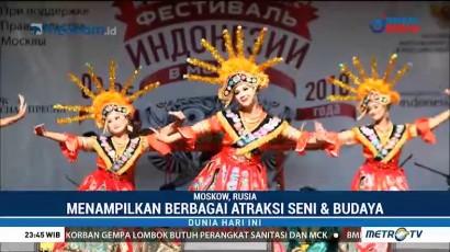 Warga Moskow Antusias Kunjungi Festival Indonesia