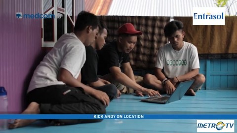 Anak-anak Pulau Diajak Mengenal Komputer