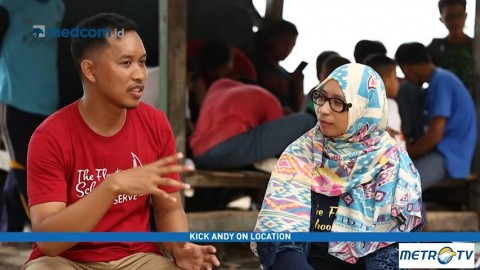 Floating School Bantu Anak-anak Pulau Raih Cita-cita