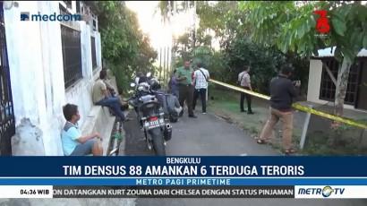 Densus 88 Amankan 6 Terduga Teroris di Bengkulu