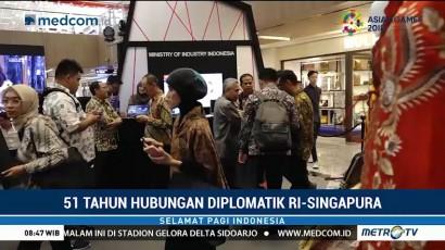 Rising Merdeka Rayakan 51 Tahun Hubungan Diplomatik RI-Singapura