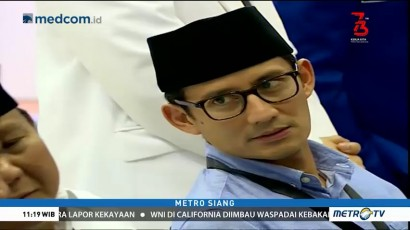 PR Sandiaga Uno untuk Jakarta