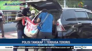 Densus 88 Tangkap Terduga Teroris Jaringan JAD di Bengkulu