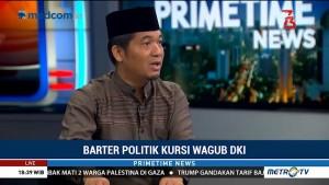 Barter Politik Kursi Wagub DKI