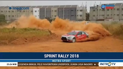 Sean Gelael Ramaikan Sprint Rally 2018