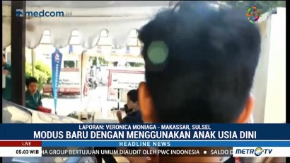 Modus Baru Peredaran Narkoba di Makassar Melibatkan Anak-anak