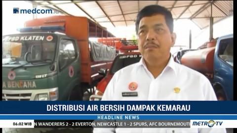 BPBD Klaten Anggarkan Dana Rp200 Juta untuk Bantuan Air Bersih