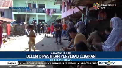 Ledakan di Indekos Makassar, Satu Terluka