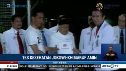Jokowi-KH Ma'ruf Amin Optimistis Lolos Tes Kesehatan