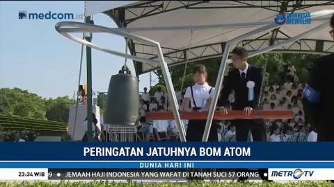 Khidmatnya Peringatan Bom Atom Hiroshima dan Nagasaki