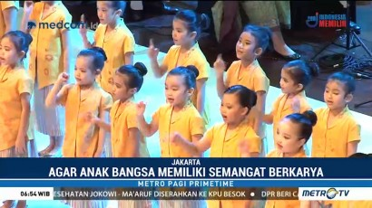 Konser Simfoni untuk Bangsa, Dari dan Untuk Anak Indonesia