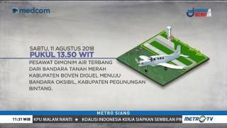 Kronologis Kecelakaan Pesawat Dimonim Air di Pegunungan Bintang Papua