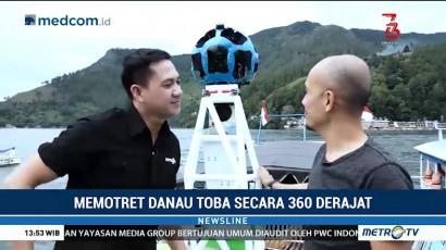 Mengikuti Produksi Google View Danau Toba