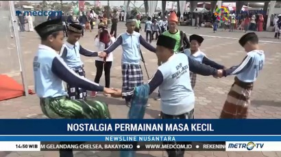 Serunya Nostalgia Permainan Masa Kecil di BKB Palembang