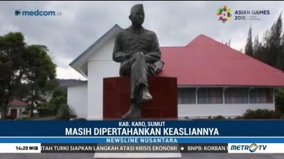 Jejak Perjuangan Soekarno di Tanah Karo