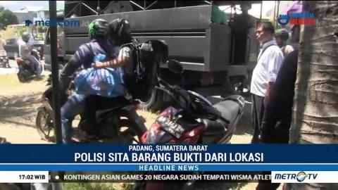 Densus 88 Gerebek Rumah Terduga Teroris di Padang