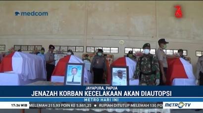 Delapan Jenazah Korban Kecelakaan Pesawat Dimonim Tiba di Jayapura