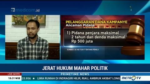 Jerat Hukum Mahar Politik
