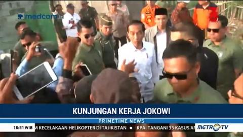 Jokowi akan Menginap di Tenda Pengungsian Korban Gempa Lombok