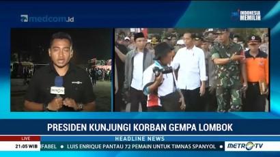 Jokowi Instruksikan Percepatan Distribusi Bantuan Korban Gempa Lombok