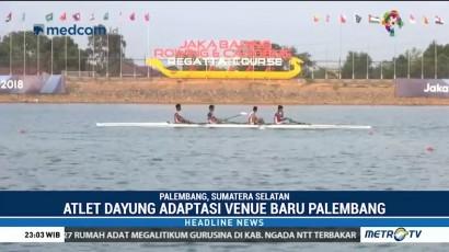 Atlet Dayung Mengaku Puas dengan Venue Asian Games