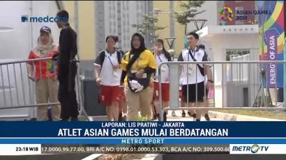 Atlet Asian Games Mulai Berdatangan ke Jakarta