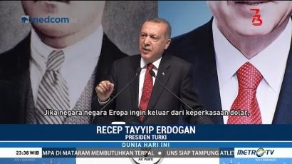 Mata Uang Turki Anjlok 41 Persen Terhadap Dolar AS