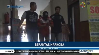 Polisi Gagalkan Penyelundupan 1 Kg Sabu ke Kalsel