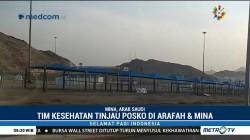 Tim Kesehatan Haji Madinah Tinjau Posko di Arafah dan Mina