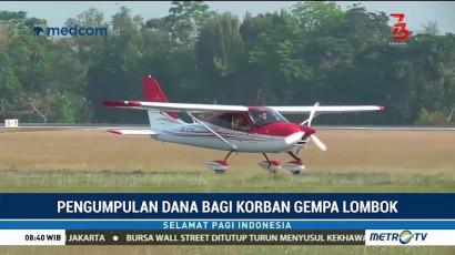 Sensasi Terbang Sambil Beramal Bareng Jogja Flying Club