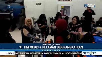 31 Relawan dan Tim Medis NasDem Diberangkatkan ke Lombok