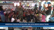 Anak Korban Gempa Lombok Diberi <i>Trauma Healing</i>