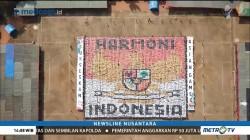 Sepuluh Ribu Mahasiswa Undip Bentuk Konfigurasi Garuda Pancasila