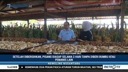 Melihat Proses Pembuatan Pisang Sale Khas Tanah Rencong