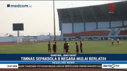 8 Timnas Sepak Bola Peserta Asian Games Mulai Berlatih