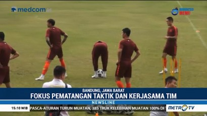 Timnas Tiongkok Jalani Latihan Terakhir Jelang Hadapi Timor Leste