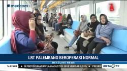 Warga Palembang Antusias Gunakan LRT