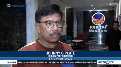 Johnny Plate: Pergantian Jabatan Menteri Hak Prerogatif Presiden