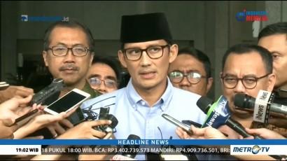 Sandiaga Uno Bantah Dugaan Mahar Politik