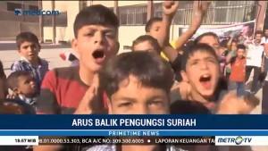 Pengungsi Suriah Berangsur-angsur Pulang ke Kampung Halaman
