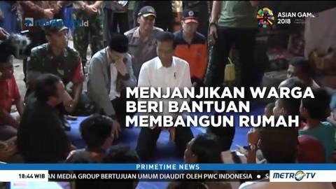 Rangkaian Kegiatan Jokowi Saat Kunjungi Lombok