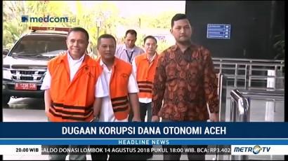 KPK Periksa 13 Saksi Kasus Dana Otonomi Aceh