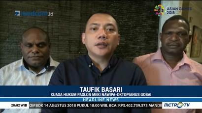 Pasangan Napiwa-Oktopianus Minta Hakim Tolak Gugatan Pilkada Paniai