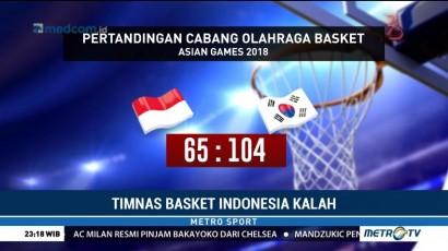 Timnas Basket Indonesia Takluk dari Korsel