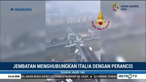 22 Orang Tewas Akibat Jembatan Roboh di Italia