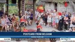 Taman di Belgia Tampilkan Budaya Khas Indonesia