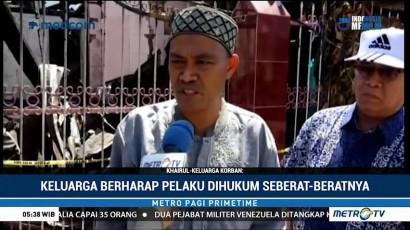 Keluarga Tuntut Hukuman Mati Bagi Pembakar Satu Keluarga di Makassar