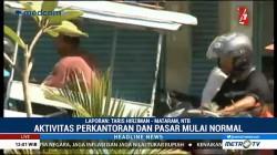 Aktivitas di Kota Mataram Kembali Normal
